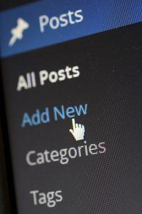 Posting a Blog