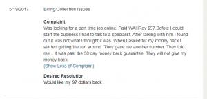 Refund Complaints