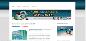 online home careers university is a scam