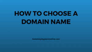 Tips to choose a great domain name