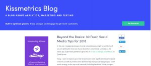 Social media marketing tips for 2018