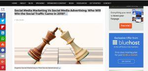 Social media advertising tips