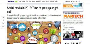 Social media in 2018