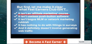 How Fast Earners Club works